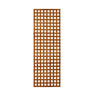 Wooden Rectangle Trellis (H)1.83m(W)0.63m, Pack of 5