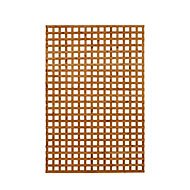 Wooden Rectangle Trellis (H)1.83m(W)1.22m, Pack of 3