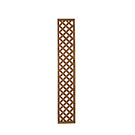 Wooden Trellis cap (H)0.32m(W)1.83m, Pack of 5