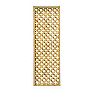 Highgrove Wooden Square Trellis panel (H)1.83m(W)0.61m