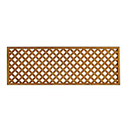 Wooden Diamond lattice Trellis (H)0.61m(W)1.83m, Pack of 3