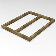 Forest Garden 4x3 Timber Shed base - Assembly service included