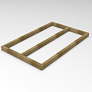 Forest Garden 5x3 Timber Shed base