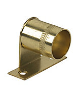 Colorail Brass effect Centre bracket (Dia)19mm, Pack of 2