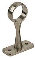 Colorail Nickel effect Centre bracket (Dia)25mm