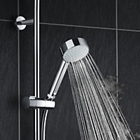Mira Decor Dual Silver Effect Electric Shower, 10.8 kW