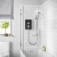 Mira Decor Black onyx Electric Shower, 9.5kW