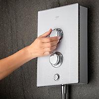 Mira Decor Dual White Electric Shower, 10.8 kW