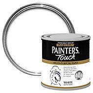Rust-Oleum Painter's touch White Satin Multi-surface paint, 0.25L