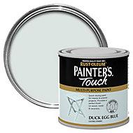 Rust-Oleum Painter's touch Duck egg Gloss Multi-surface paint, 0.25L