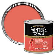 Rust-Oleum Painter's touch Bright orange Gloss Multi-surface paint, 0.25L