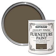 Rust-Oleum Cocoa Chalky effect Matt Furniture paint, 0.13L