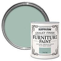 Rust-Oleum Duck egg Chalky effect Matt Furniture paint, 0.13L