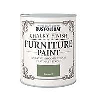 Rust-Oleum Bramwell Chalky effect Matt Furniture paint, 0.13L
