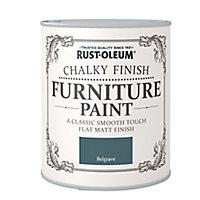 Rust-Oleum Belgrave Chalky effect Matt Furniture paint, 0.75L