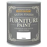 Rust-Oleum Cotton Satin Furniture paint, 0.75L
