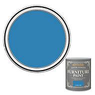 Rust-Oleum Cornflower blue Satin Furniture paint, 0.13L