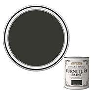Rust-Oleum Natural charcoal Flat matt Furniture paint 750ml