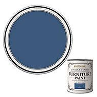 Rust-Oleum Cobalt Flat matt Furniture paint, 0.75L