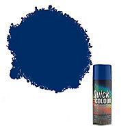 Rust-Oleum Quick colour Blue Gloss Multi-surface Spray paint, 400ml
