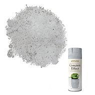 Rust-Oleum Natural effects Matt Concrete effect Multi-surface Spray paint, 400ml