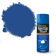 Rust-Oleum Painter's touch Deep blue Gloss Multi-surface Decorative spray paint, 400ml