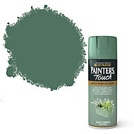 Rust-Oleum Painter's touch Sage green Gloss Multi-surface Decorative spray paint, 400ml