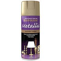 Rust-Oleum Gold effect Multi-surface Spray paint, 400ml
