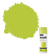 Rust-Oleum Mode Lime green Gloss Multi-surface Spray paint, 400ml