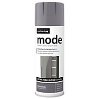 Rust-Oleum Mode Charcoal Gloss Premium quality spray paint 400 ml
