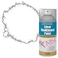 Rust-Oleum Chalkboard Clear Matt Multi-surface Spray paint, 150ml