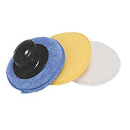 Hilka Pro-Craft Polish Applicator Pads, Pack of 1