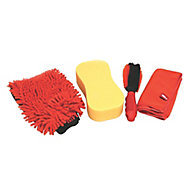Hilka Pro-Craft 4 piece Car cleaning kit