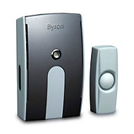 Byron White Wireless Battery-powered Door chime kit BY504
