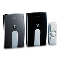 Byron White Wireless Battery & mains powered Door chime kit BY535