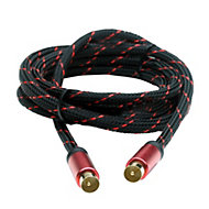 Smartwares Aerial fly lead Black & red 1.5 m