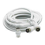 Smartwares Aerial fly lead White 5 m
