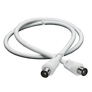 Smartwares Aerial fly lead White 0.75 m