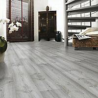 Dartmoor Oak effect Laminate flooring, 1.48m² Pack