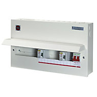 Wylex 100A 15 way High integrity dual RCD Consumer unit