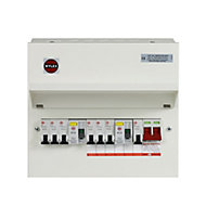 Wylex 100A 7 way High integrity dual RCD Consumer unit