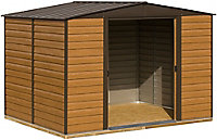 Arrow Woodvale 10x8 Apex Metal Shed