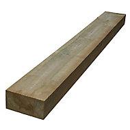 Rowlinson Timber Sleeper (W)100mm (L)1.8m