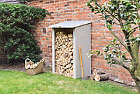 Heritage Cladded Fine sawn Pent roof Wooden Log store