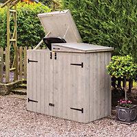 Rowlinson Heritage Tounge & groove Wooden Bin storage
