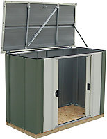 Arrow Greenvale 4x2 Pent Metal Shed - Assembly service included