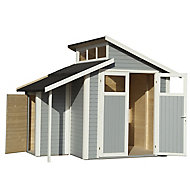 Rowlinson Paramount Buildings 7x10 Pent Tongue & groove Wooden Shed