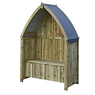 Rowlinson Winchester Boat Softwood Arbour
