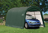 Shelterlogic 15x10 Round top Plastic Garage