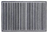 Grey Stripe Nylon Door mat (L)750mm (W)500mm